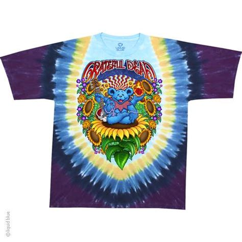 wholesale grateful dead guru tie dye t shirt liquid