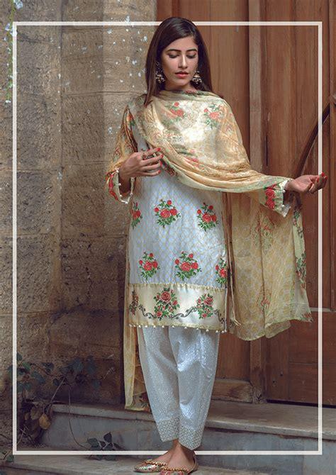 latest alkaram eid collection   hijabiworld