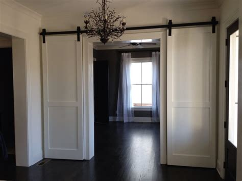 Custom Sized Interior Double Barn Doors European Custom Interior Barn Doors