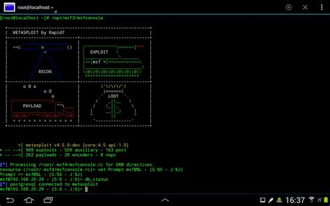 metasploit android silent services howto install metasploit and other usefull stuff archlinuxarm on