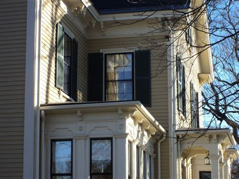 House Exterior Colors by Color Chestertown Buff Windham Cream Trim Shutters Are