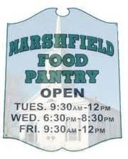 Marshfield Food Pantry by Supporters And Local Businesses