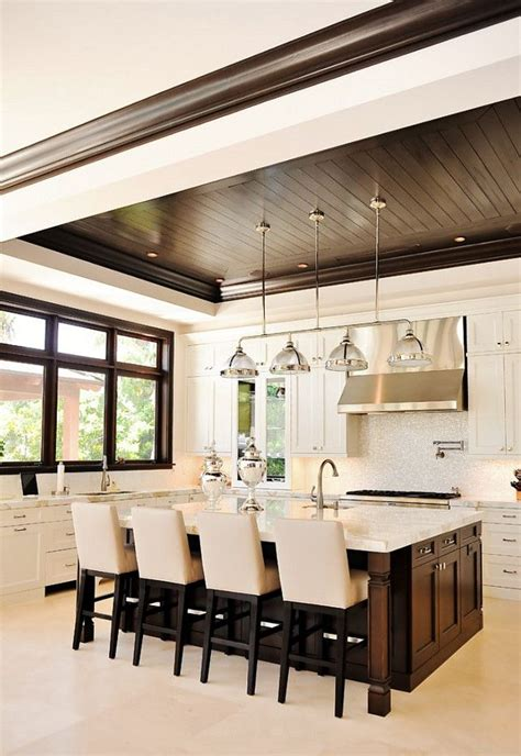 Moderne Deckengestaltung by 20 Amazing Transitional Kitchen Designs For Your Home