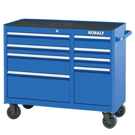 kobalt 8 drawer tool box shop kobalt 2000 34 25 in x 41 in 8 drawer ball