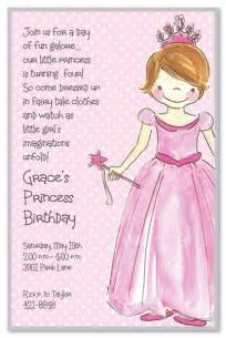 princess birthday invitations 15785 lyla mae s 4th birthday