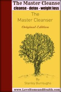 Clean Detox Book by The Master Cleanse Home And Health