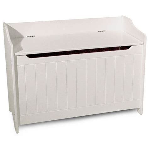 white storage chest bench storage chest bench in white finish catskill craftsmen 89095