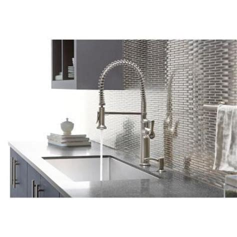 kohler sous pro style single handle pull sprayer