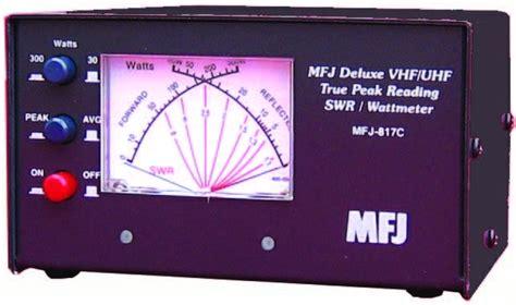 Mfj 842 Compact Cross Needle radio accessories oscmax v2 0