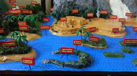 3d class geography 8468232394 model of geography terms with names youtube