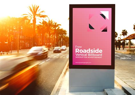 Designed For Outdoors 35 free awesome psd billboard advertising mockups free