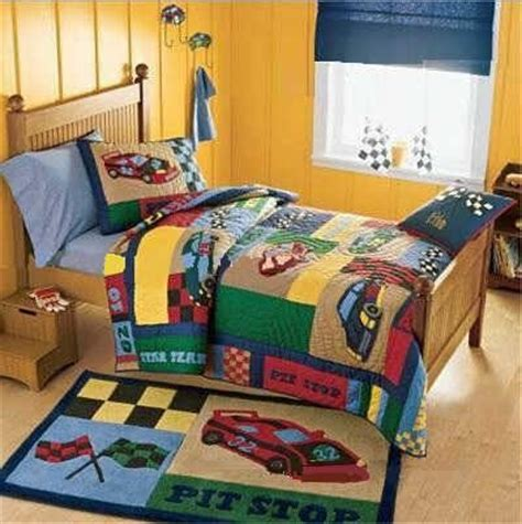 racing bedding race car bedding