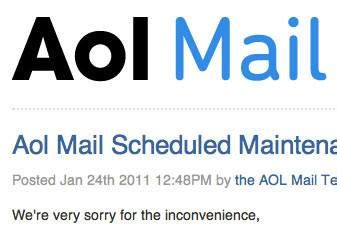 aol mail down all day did anyone notice nbc news