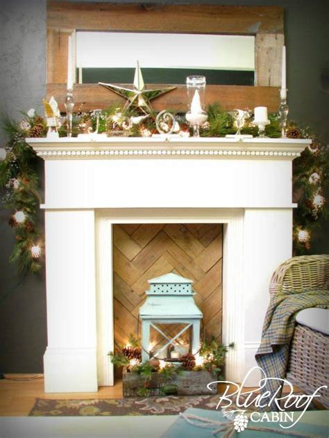 1000 ideas about faux mantle on faux