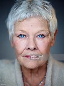 judi bench judi dench odeon leicester square short hairstyle 2013