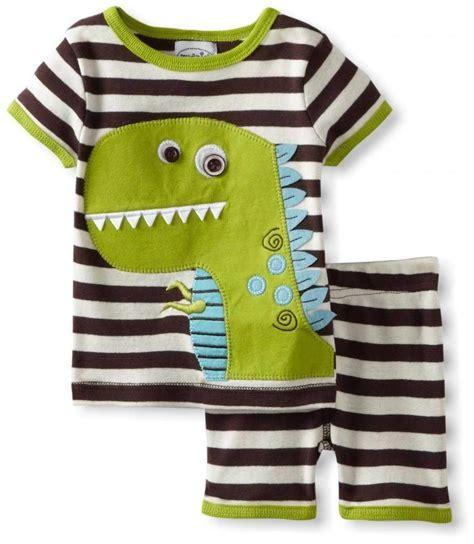 mud pie jungle dino dinosaur boys 2 pc shorts pjs