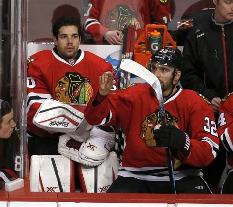 chicago blackhawks bench blackhawks suffer lopsided loss at home dailyherald com