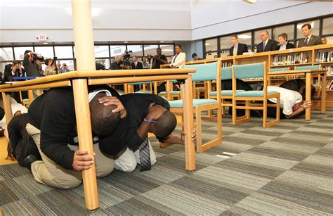 Kitchen Cabinet President by Slps Students Use Great Shakeout To Practice Earthquake