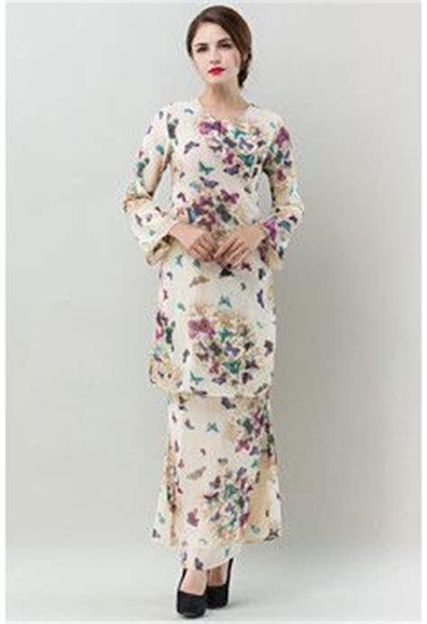 Dress Brukat Phing Phing fesyen trend terkini bianco mimosa alysiella baju kurung