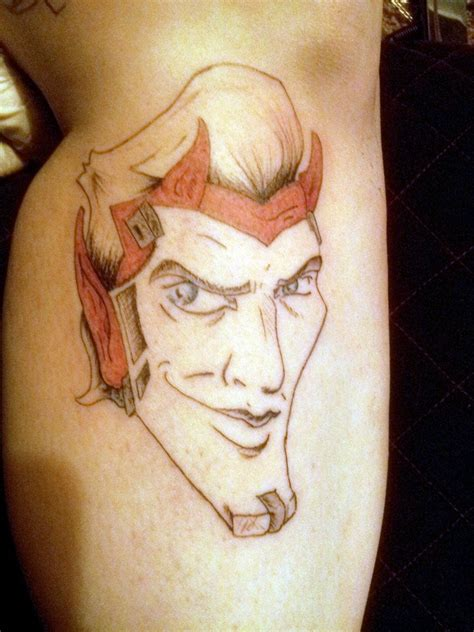 handsome devil tattoo handsome by a m b e r w o l f on deviantart