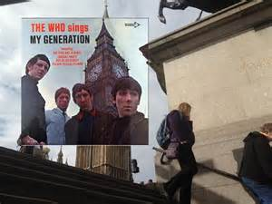 Who Sings The Who Sings My Generation Album Cover Location