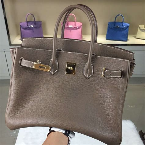 hermes birkin bag 35cm etoupe togo gold hardware www