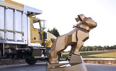 mack opens  world headquarters truck news