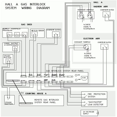 gas interlock system wiring diagram throughout gas