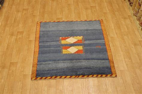 Square Rug 6x6 by Blue Modern Square 6x6 Gabbeh