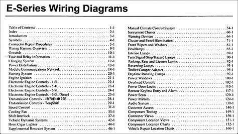 old car manuals online 2002 ford e series parking system 2006 ford econoline van club wagon wiring diagram manual original