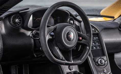 Mclaren P1 Interior by Car And Driver
