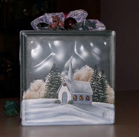 decorative memo blocks best 25 painted glass blocks ideas on pinterest painted