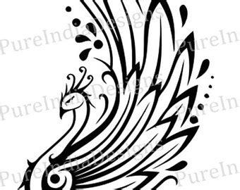 phoenix tattoo etsy
