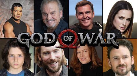 god of war film cast god of war 4 video game 2018 real life actors youtube