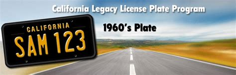 Dmv License Plate Office by Ca Legacy Plates