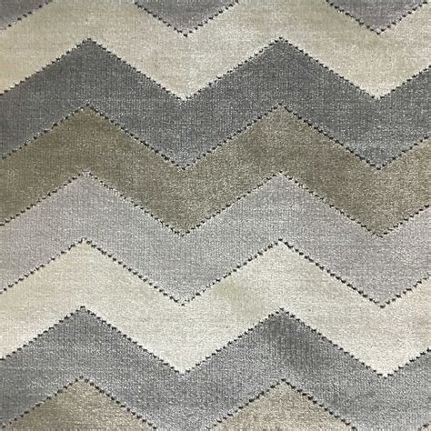 Pattern Drapery Fabric | longwood chevron pattern cut velvet upholster fabric by