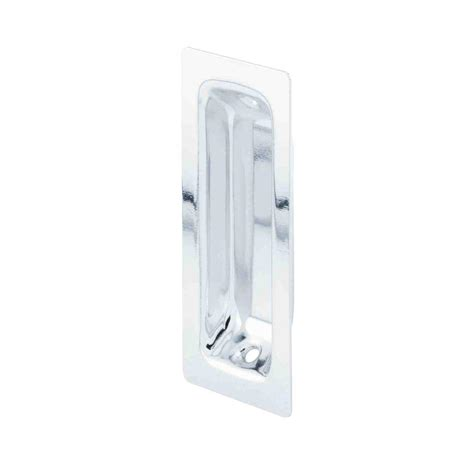 Sliding Closet Door Pull Prime Line 2 In Chrome Sliding Wardrobe Door Pulls 2 Pack N 6868 The Home Depot
