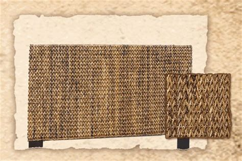 diy seagrass headboard maui woven seagrass king headboard 351 bedroom pinterest