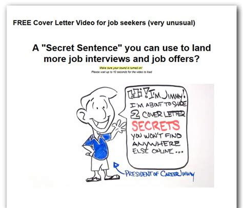 Jimmy Sweeney Amazing Cover Letters Review And Buyer's
