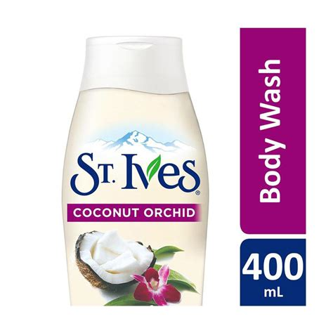 jual st ives soft silky coconut orchid wash 400