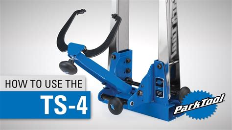 how to use a standing how to use the ts 4 professional wheel truing stand tell