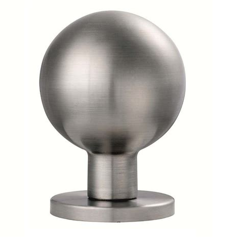 eurospec steelworx grade 316 stainless steel door knob on