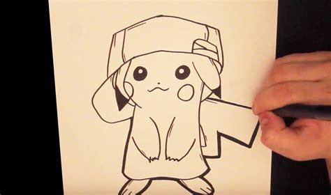 imagenes kawaii en blanco y negro dibujo de pikachu como dibujar a pikachu youtube