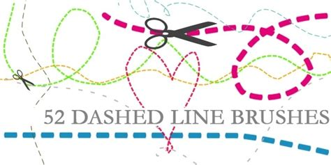 dotted line pattern photoshop 70 hottest photoshop line brushes get ready for 2017