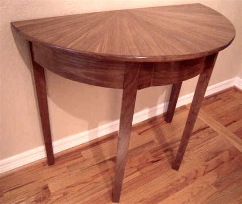 Half Circle Entry Table by Entry Tables At Www Plesums Wood