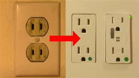 replace a 2 prong outlet with duplex grounded