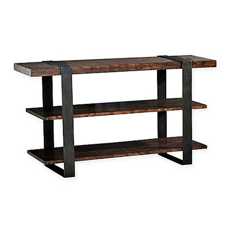 bed bath and beyond sofa table buy klaussner 174 timber forge sofa table from bed bath beyond