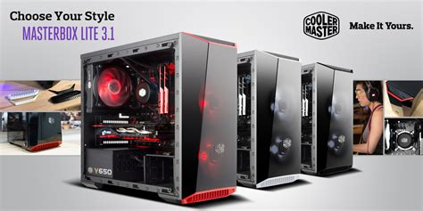 Mid Tower Cabinet Cooler Master Make It Yours