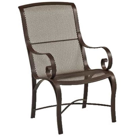 outdoor mesh furniture wingate mesh outdoor dining set by woodard outdoor furniture