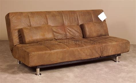 Bomber Jacket Leather Sofa by Bomber Jacket Microfiber Modern Sofa Bed Convertible Lounger